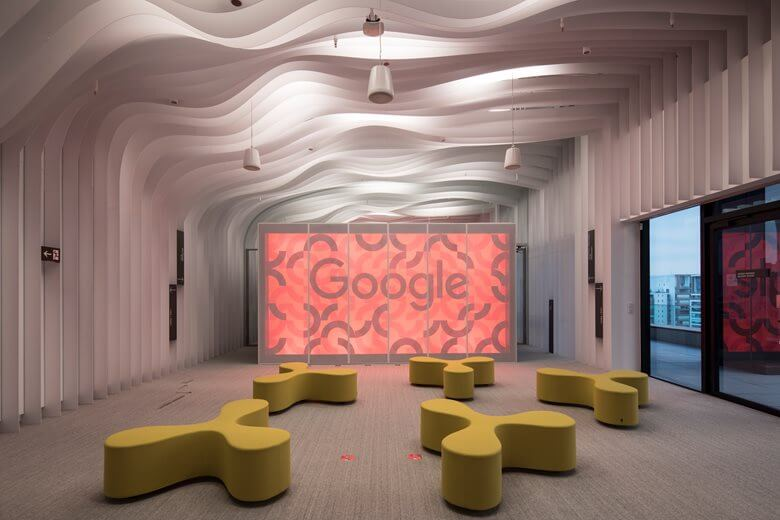Brazil Sao Paulo Google Event Space Office Interior