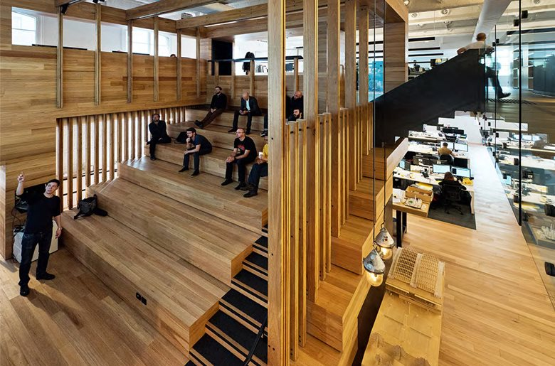Melbourne Architect Design COX Box Office Interiors