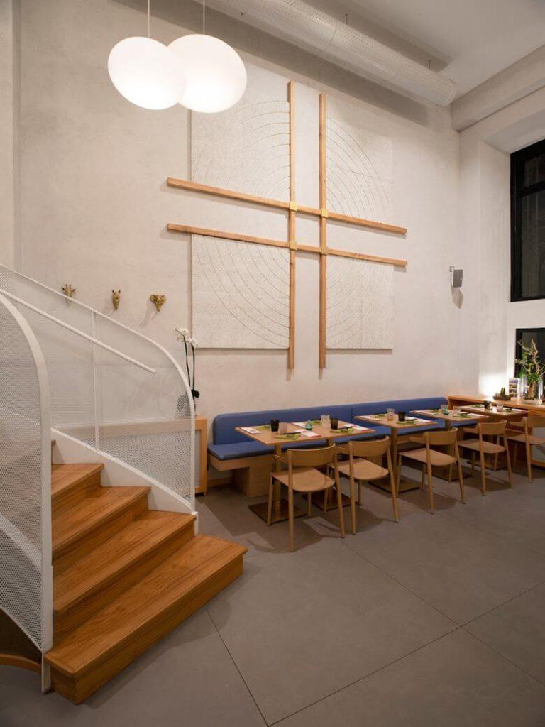 Japanese Restaurant Interior Design Idea