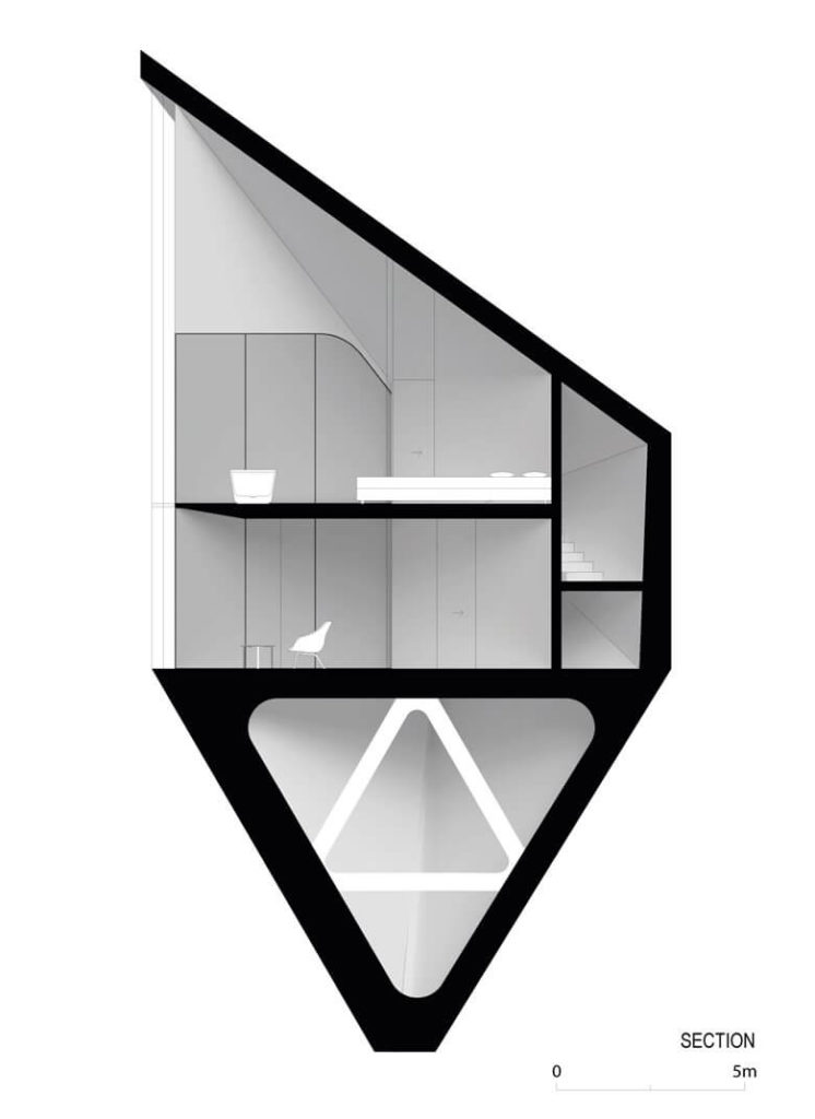 Triangle Tree House Designs | Italy Interior House Design | Architect Design