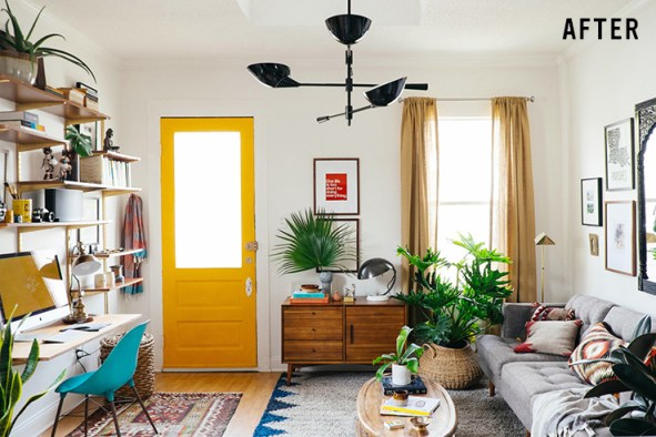 Tiny house interior  | Tin House Interior Living Room Idea | Small House Living room