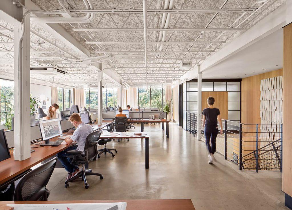 Clayton Korte Austin Office Interior | Office space design