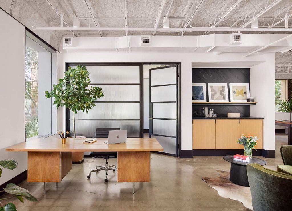 Clayton Korte Austin Office Interior | startup founder office space design