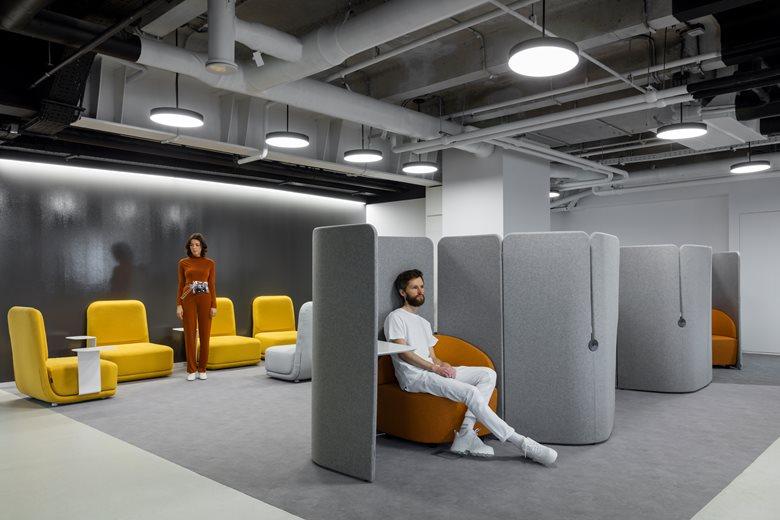 Lamoda Startup Office Space Design