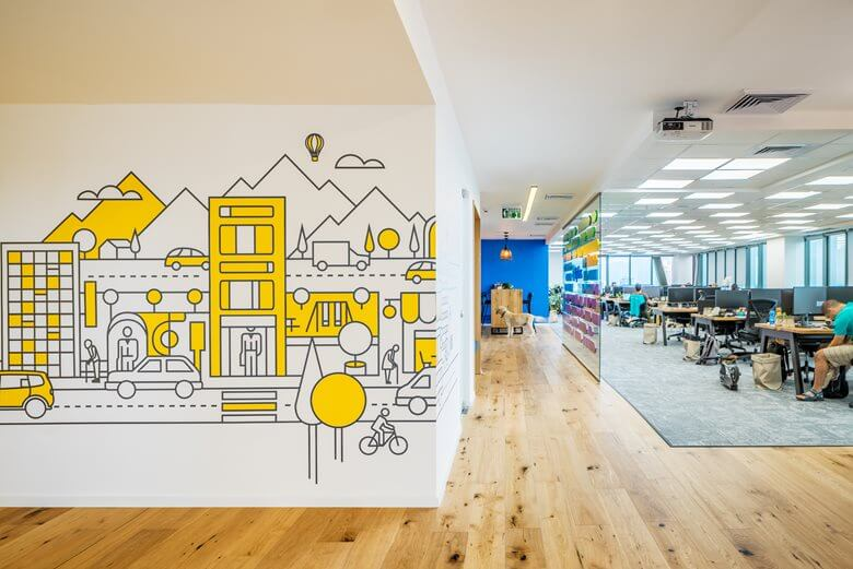 Optibus Office Interior Design | Office Interior Design Workstation