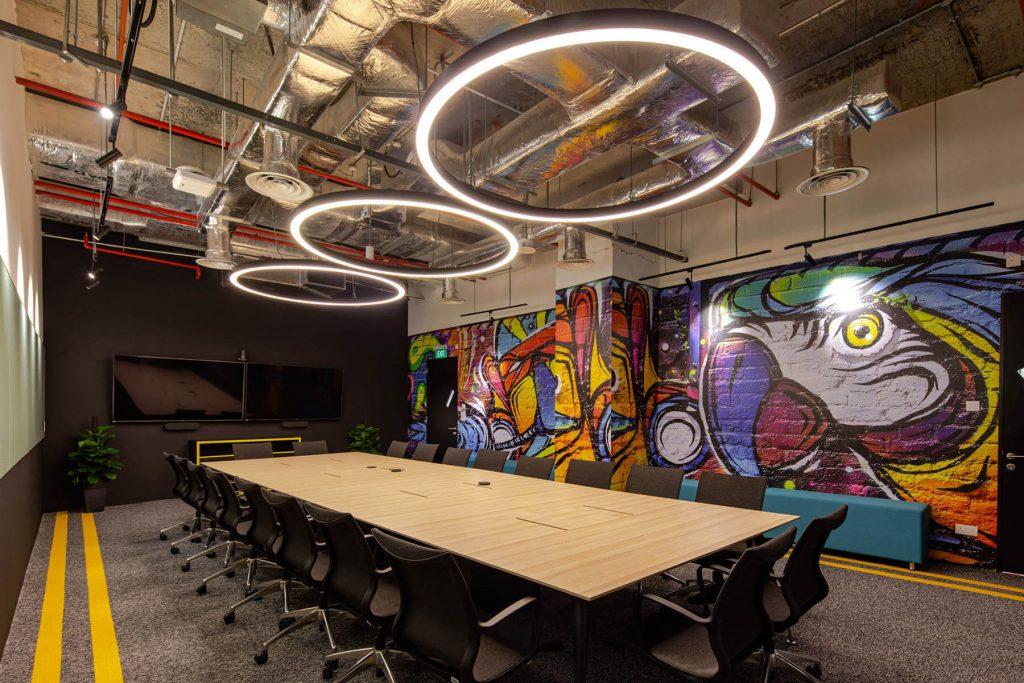 UBISOFT Singapore Office Interior Design