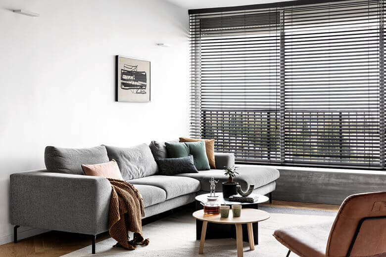 White Apartment Decor Living Room Area