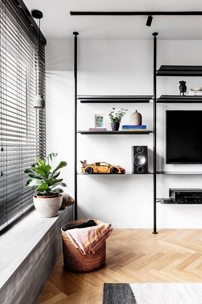 White Apartment Decor Windows